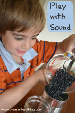 play with sound: experiment for young kids