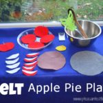 Felt Apple Pie Pretend Play