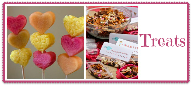 Valentine's Day snacks