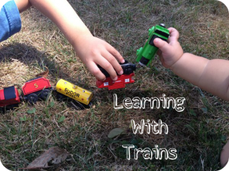 Learning with Thomas the tank - front image