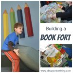 Building a Book Fort!