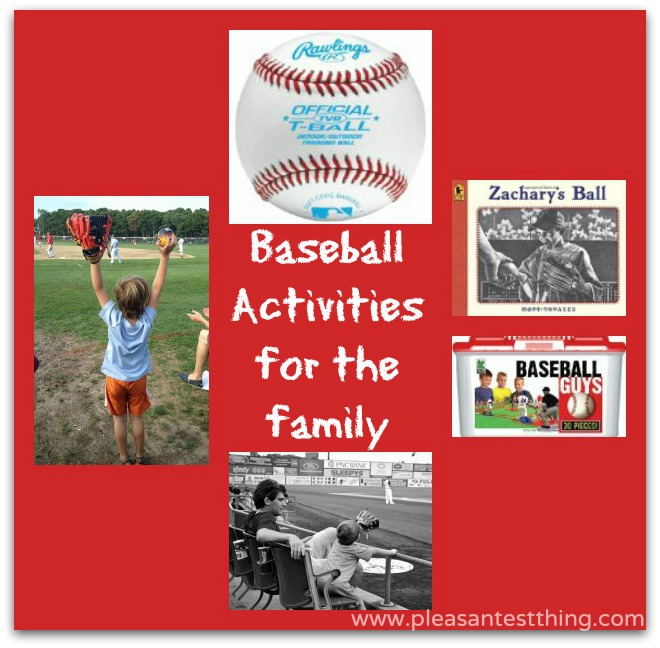 baseball activities to enjoy with the family