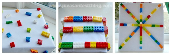 LEGO present decorations