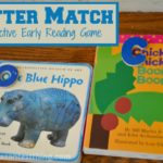 Letter match - an active game for learning letter recognition and early reading skills
