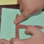 Touch and Feel ABC Cards: sensory letter exploration