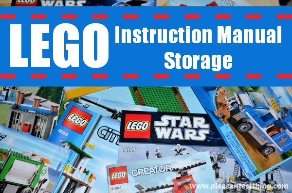 lego storage instruction manual edition. Black Bedroom Furniture Sets. Home Design Ideas