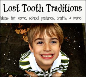 How to turn your child's lost teeth into memories!