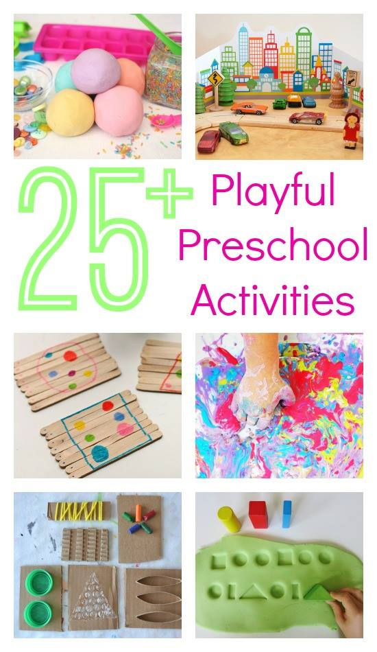 Playful preschool ebook