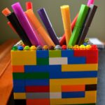 Make Your Own LEGO Pencil Holder