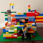 Make a Word Castle: Learn sight words with LEGO bricks