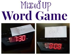 Sight Words Around the House: Mixed Up Words
