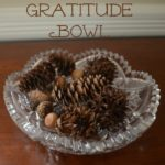 Giving Thanks as a Family - gratitude dinner ritual