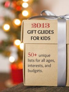 50+ gift guides for kids