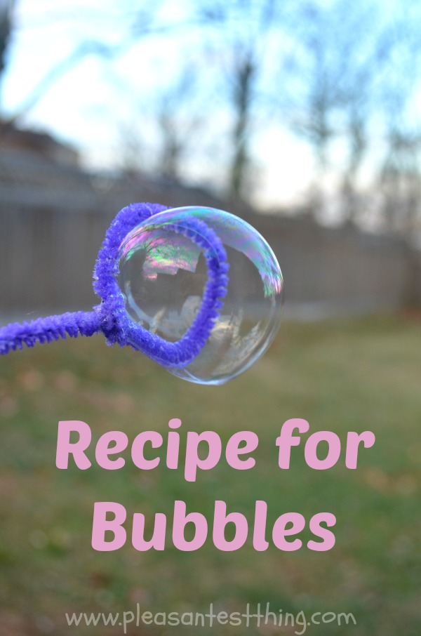 how to make your own bubbles. Black Bedroom Furniture Sets. Home Design Ideas