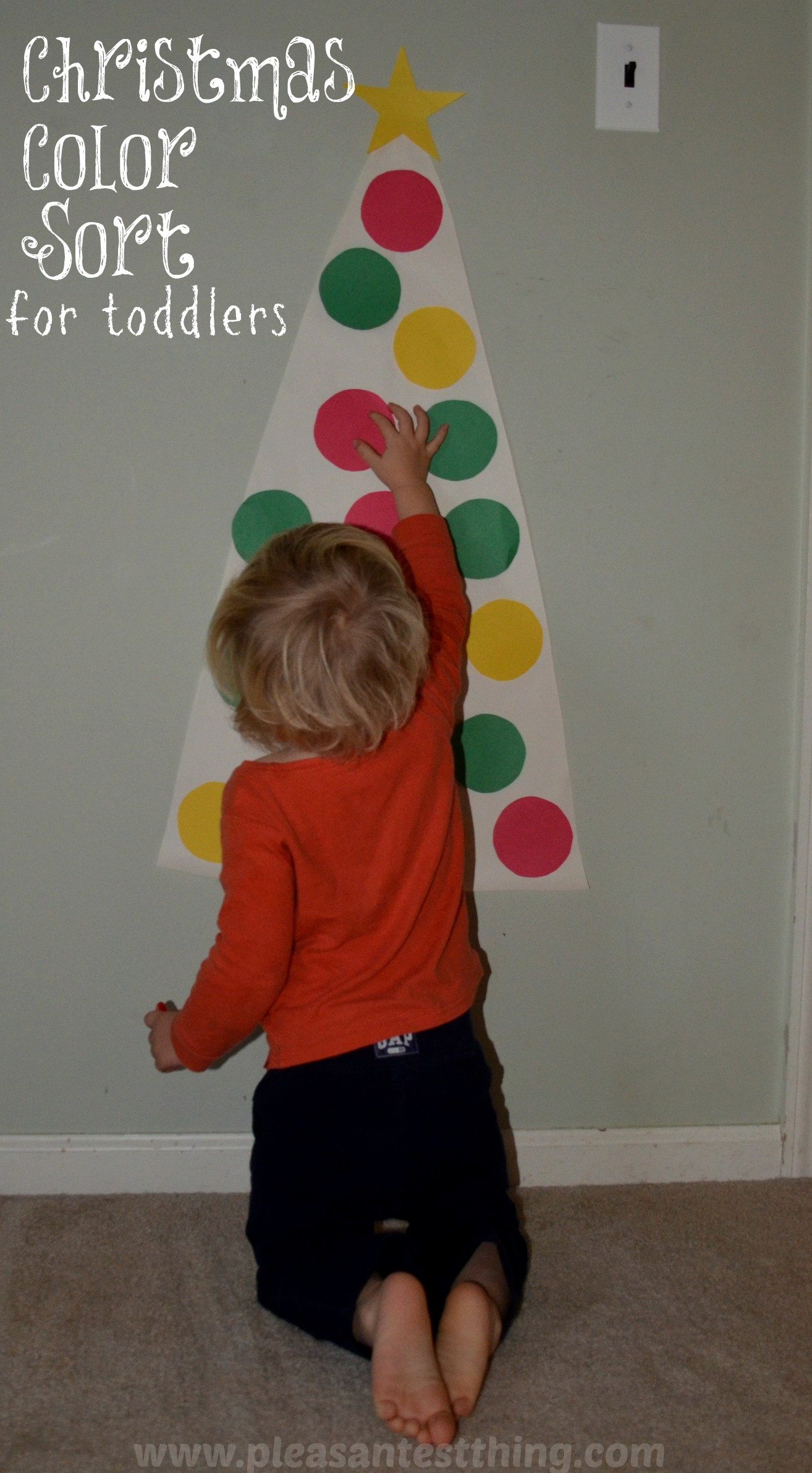 Christmas Colors: Toddler Game