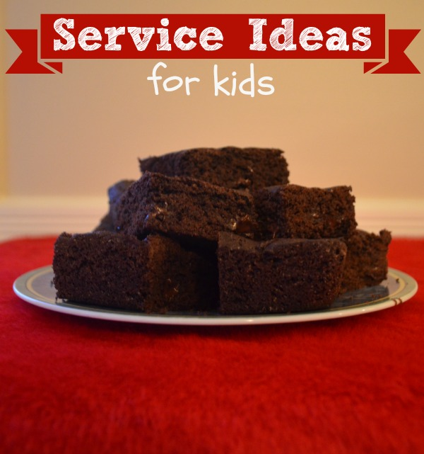 Service Ideas perfect for kids!