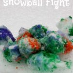 Rainbow Snowball Fight