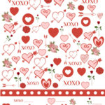 Free printable Valentine's Day I Spy Game - slip one into your Valentines!