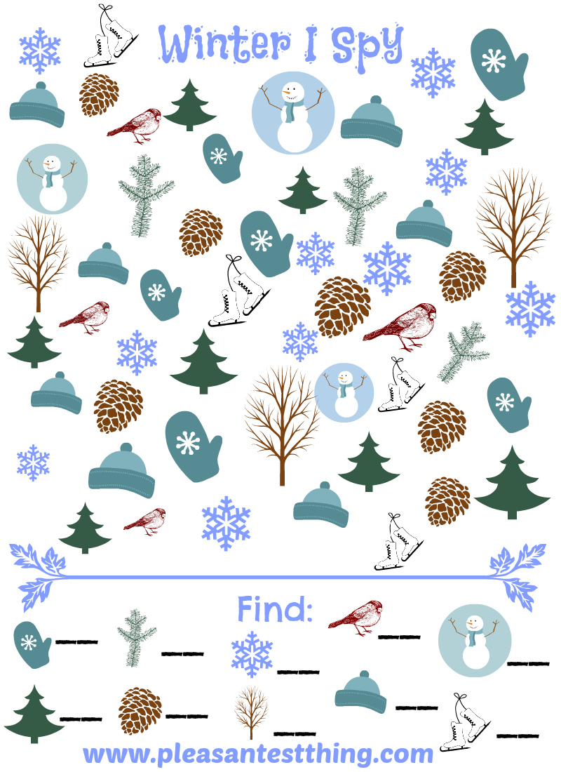 Christmas+Seek+and+Find+Printables Love I Spy games? Check out our ...