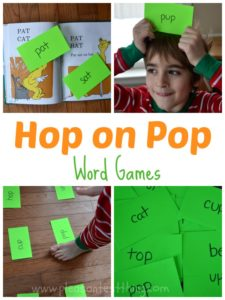 Hop on Pop Word Games