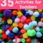 35 Pompom Activities Toddlers Love