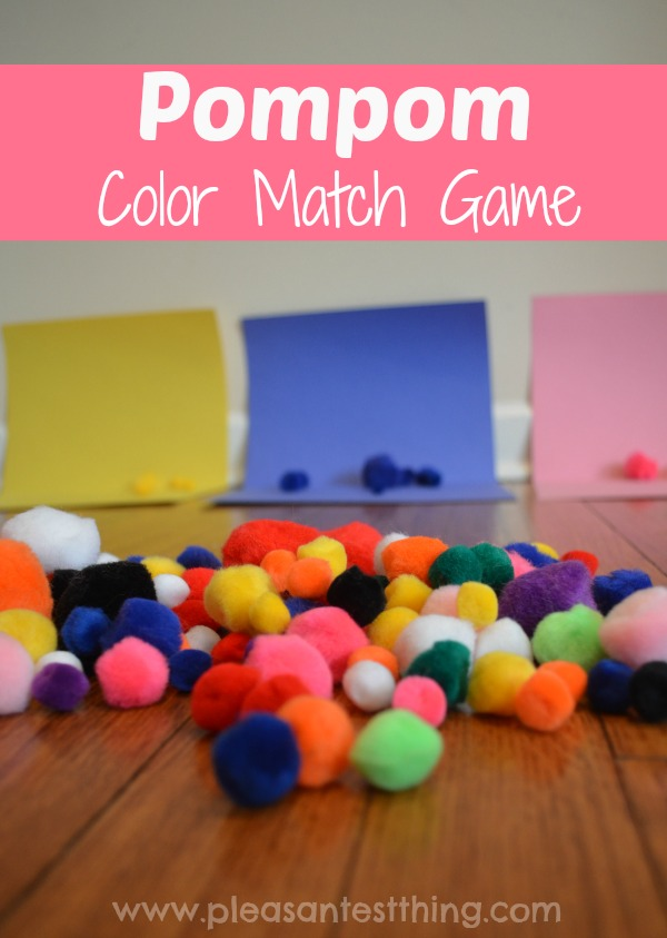 Try active target practice with this blowing pompoms game!