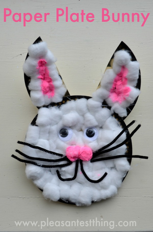 & Paper Plate Bunny Craft