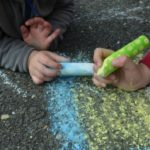 Sidewalk Chalk: 35 Ways to Play & Learn