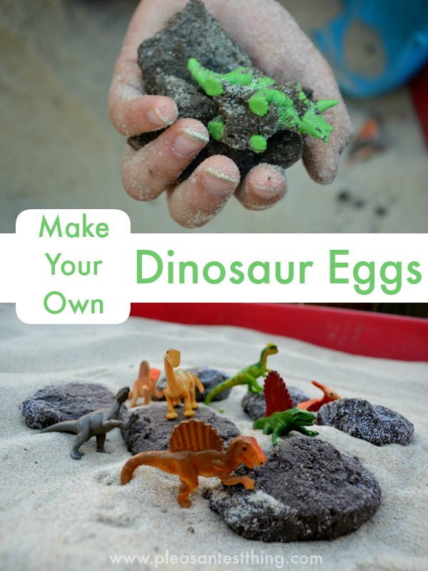 How to Make Your Own Dinosaur Eggs!