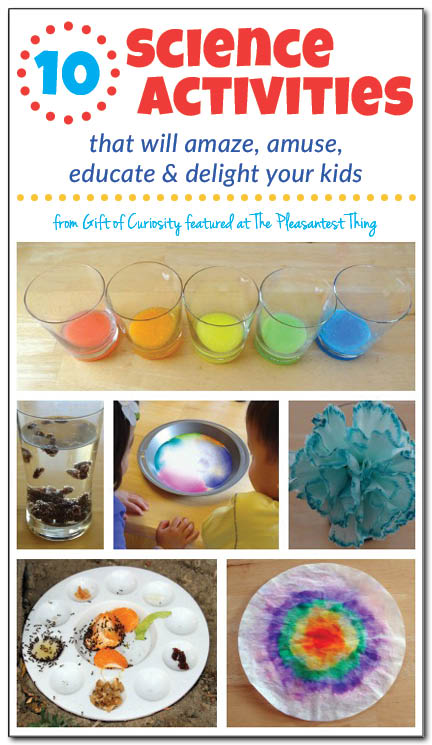 10 science activities that will amaze your kids simple for Educational crafts for toddlers