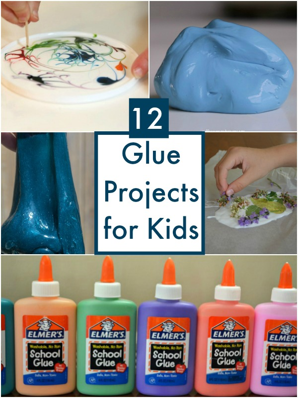 Glue Projects For Kids