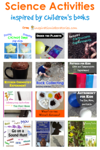 Science Activities Inspired by Children's Books