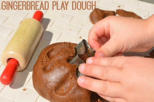 Gingerbread Play Dough Recipe! Smells amazing!