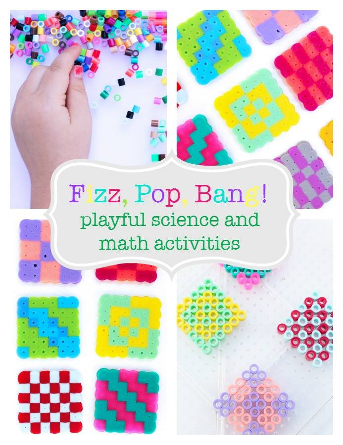 Hands-on playful math and science ideas for kids!