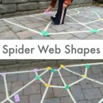 Spider Web Tape Game