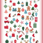 Christmas Printable I Spy Game - Printing this out for New Years Eve!