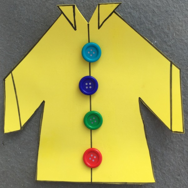 Pete the Cat and His Four Groovy Buttons Busy Bag - so easy to make!