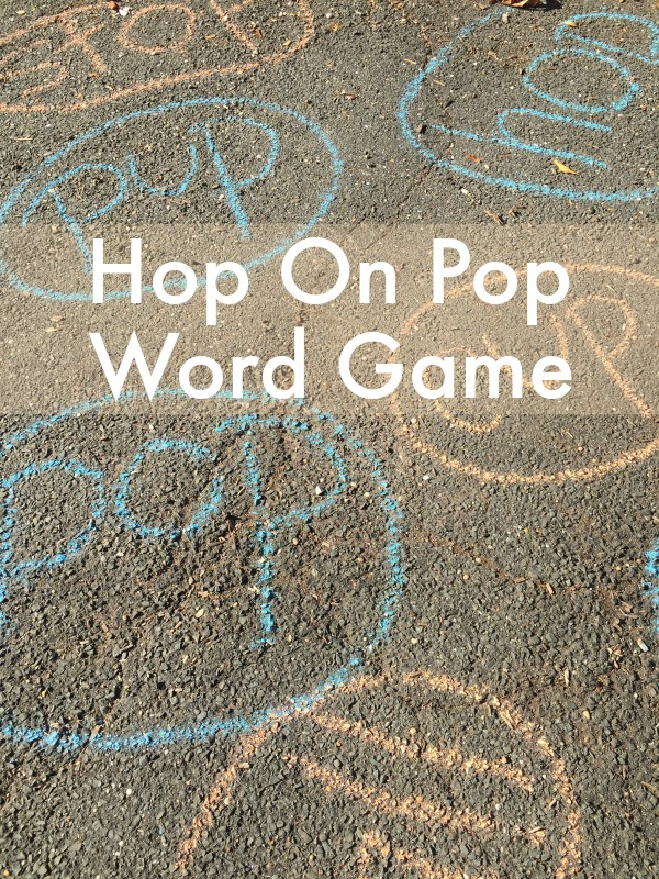 Hop On Pop Activity! Game to get kids moving based on the Dr. Seuss book!