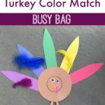 Turkey Color Match Busy Bag