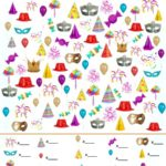 New Year I Spy Game - free printable search and find game!