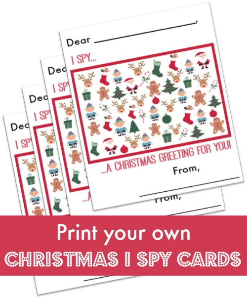 christmas i spy cards a free printable for kids to send