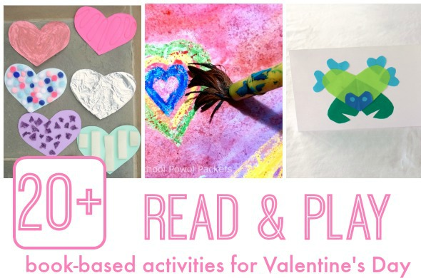 Valentine's Day activities for kids based on picture books!