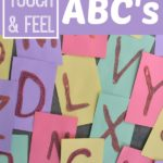 DIY Touch and Feel ABC Cards