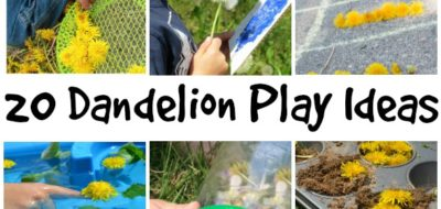 20 dandelion play ideas!