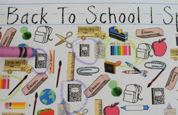 Back to School I Spy Search and find printable game!