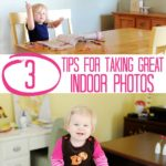 How to take GREAT pictures of your kids! 3 photography tips to stop indoor pictures from being dark and blurry!