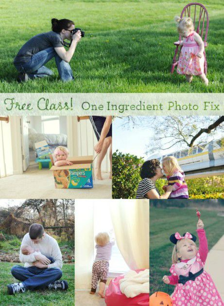 Free photography class - learn how to take better pictures of your kids!