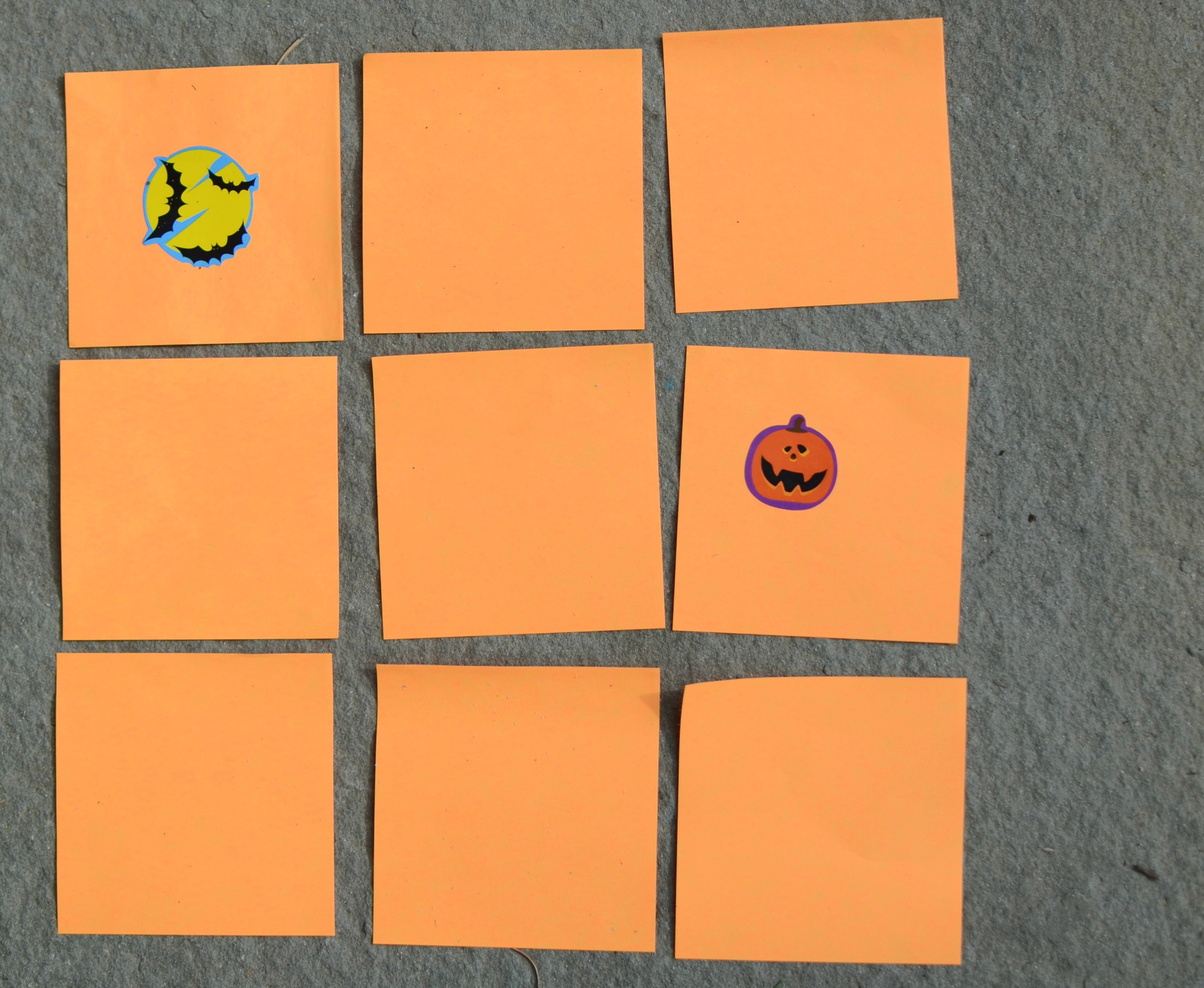 Make your own Halloween game - DIY Memory!