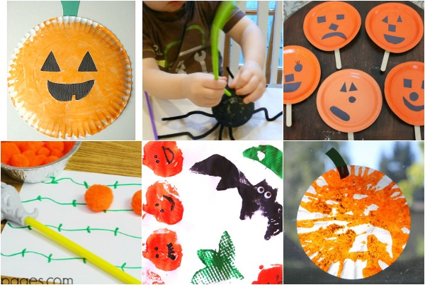 Halloween activities toddlers will love - games, crafts, and activities with not so spooky Halloween ideas!