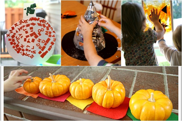 Toddler activities for Halloween